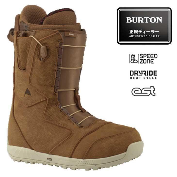 18-19 BURTON バートン メンズ スノーボード ブーツ ION LEATHER アイオン レザー ship1