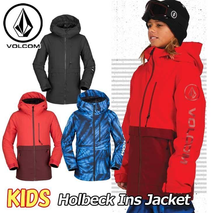 18-19 VOLCOM ボルコム キッズ ウェア スノー ボード ジャケット Holbeck Ins Jacket I0451904 【返品種別OUTLET】