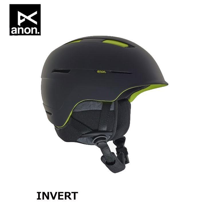18-19 ANON アノン メンズ ヘルメット INVERT - ASIAN FIT Helmet ship1