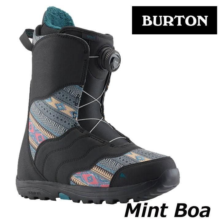 18-19 BURTON バートン レディース ブーツ スノーボード MINT BOA ミント ボア 【返品種別OUTLET】ship1