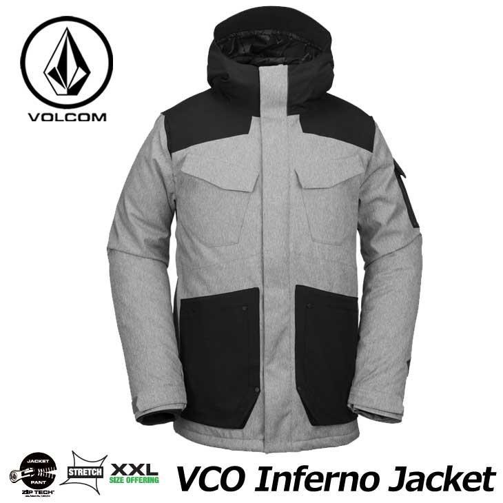 18-19 VOLCOM ボルコム メンズ ウェア スノー ボード ジャケット VCO Inferno Jkt G0651909 【返品種別OUTLET】