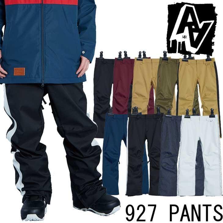 19-20 AA ダブルエー メンズ ウェアー 【927 PANTS 】927パンツ スノーボード SNOW WEAR 入荷済み ship1