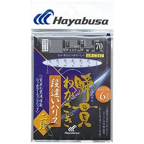 誕生日プレゼント ハヤブサ(Hayabusa) 0.8-0.2 C247 瞬貫わかさぎ 瞬貫わかさぎ 段違いハリス2段 6本 6本 0.8-0.2, 照明器具と住まいのこしなか:40a1d840 --- airmodconsu.dominiotemporario.com