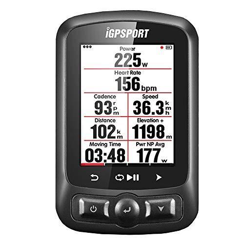 魅力的な価格 GPS サイクルコンピューター ANT +機能 iGPSPORT iGS618Eロードマップナビゲーション付き防水IPX7(サポート日本語表示), H&S STORE d862db2b
