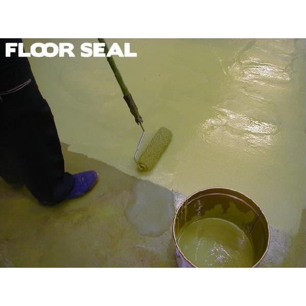 【11,000円以上送料無料】コンクリート床用ノンスリップ仕上塗料 セーフティーフロアー お試しセット|floor-seal|05