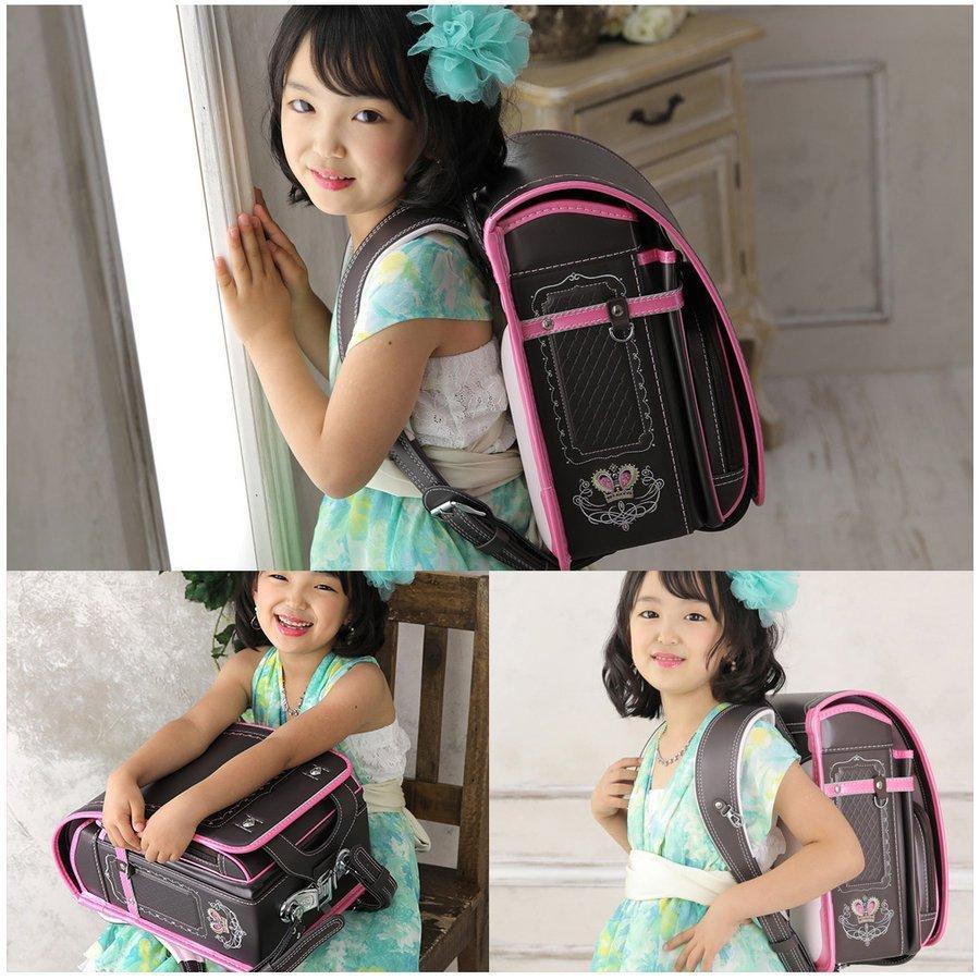 ランドセル 女 ピンク 茶色 6年保証 返品保証 クーロン 0014 / 女の子 おしゃれ かわいい 入学祝い 内祝い ピンク ブルー 可愛い 人気 水色 フロロ floro 15