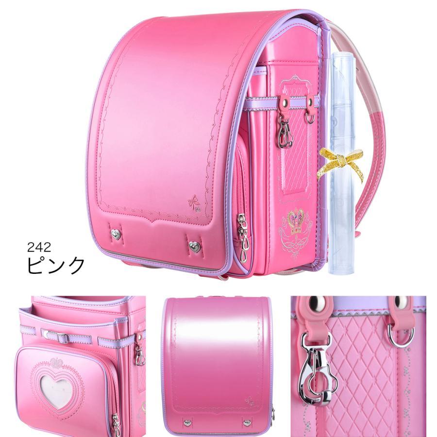 ランドセル 女 ピンク 茶色 6年保証 返品保証 クーロン 0014 / 女の子 おしゃれ かわいい 入学祝い 内祝い ピンク ブルー 可愛い 人気 水色 フロロ floro 05