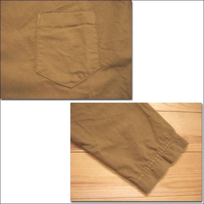 D.M.G ドミンゴ DMG 16-488T 38-5 スクエアネックシャツ  フランネル Flannel コットン ネル フラノ ブロンズ Made in JAPAN 日本製|flossy|04