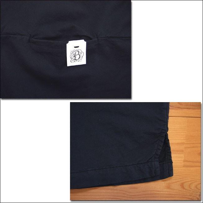 Brocante ブロカント ドミンゴ 36-156Z 19-7 ヨギープルオーバー シャツ ブラック ブラウス ヨギーツイル 綿 コットン MadeinJAPAN 日本製 倉敷 児島|flossy|04