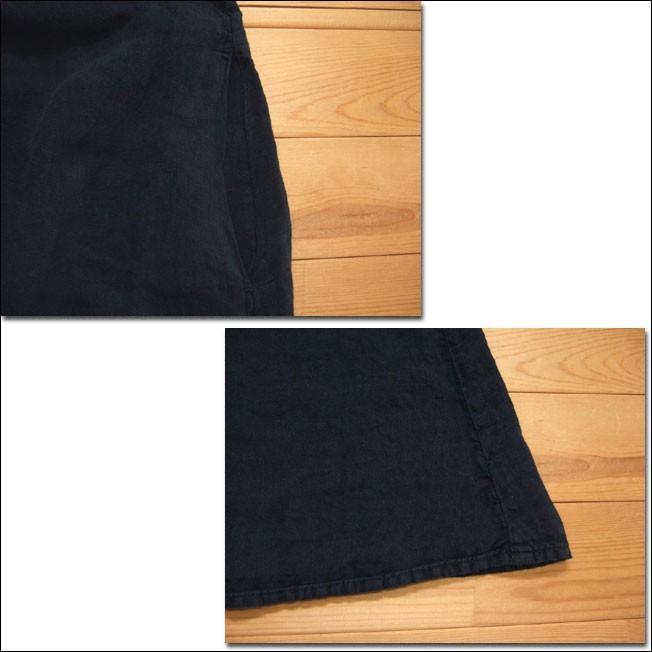 Brocante ブロカント ドミンゴ 37-148L 19-7 モンシェットワンピース ブラック 麻 リネンキャンバス リネン MadeinJAPAN 日本製|flossy|04