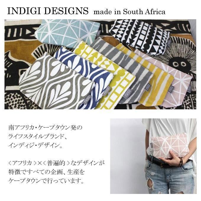 メール便可 INDIGI DESIGNS インディジデザイン フラットポーチ TOSSDICE トスダイス POUCH Made in South Africa|flossy|02