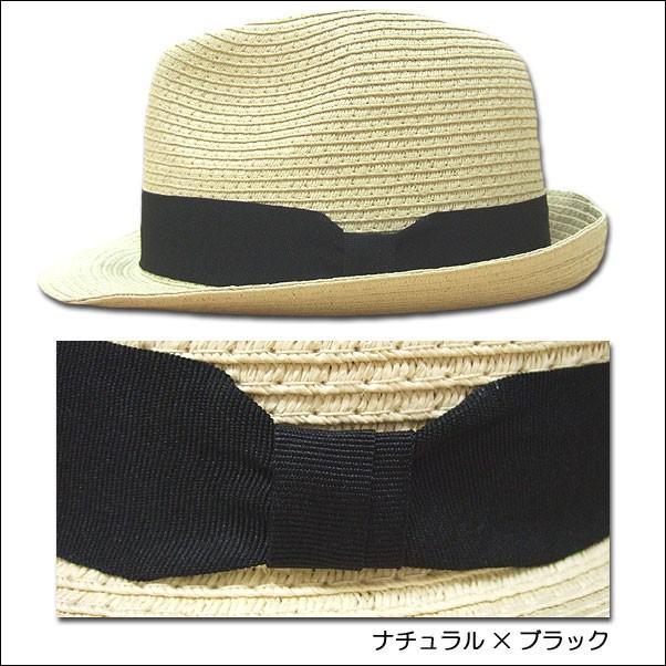 jou jou lier ブレードハット 中折れハット HAT ペーパー 帽子 男女兼用|flossy|04