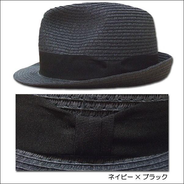 jou jou lier ブレードハット 中折れハット HAT ペーパー 帽子 男女兼用|flossy|06
