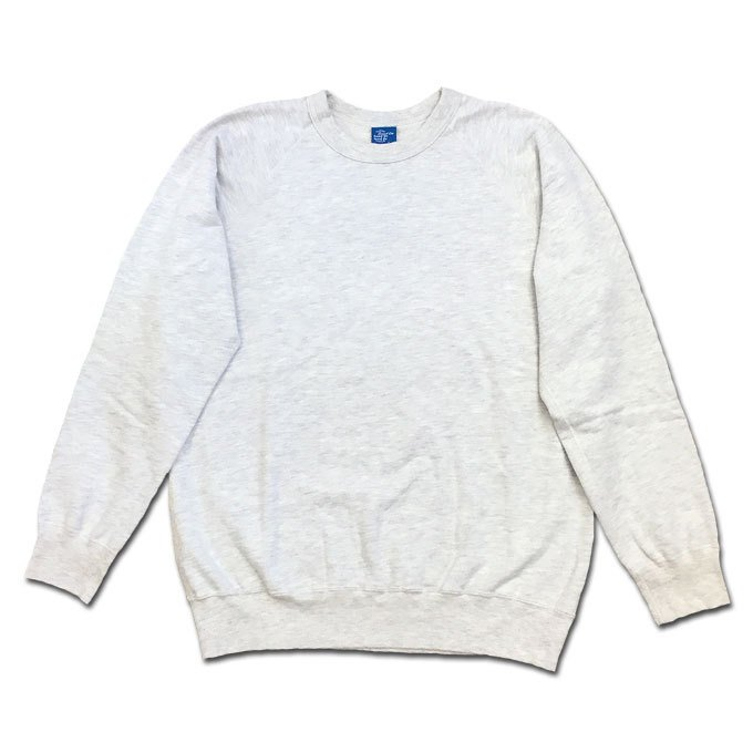 Good On グッドオン L/S RAGLAN CREW SWEAT SHIRTS ラグランクルースウェットシャツ スウェット トレーナー OATMEAL オートミール COTTONUSA flossy