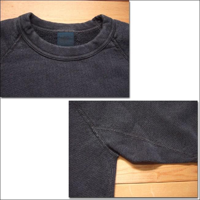 Good On グッドオン L/S RAGLAN CREW SWEAT SHIRTS ラグランクルースウェットシャツ スウェット トレーナー P-BLACK ブラック COTTONUSA|flossy|02