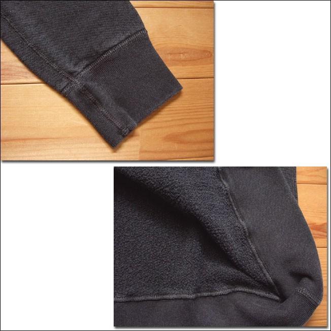 Good On グッドオン L/S RAGLAN CREW SWEAT SHIRTS ラグランクルースウェットシャツ スウェット トレーナー P-BLACK ブラック COTTONUSA|flossy|03