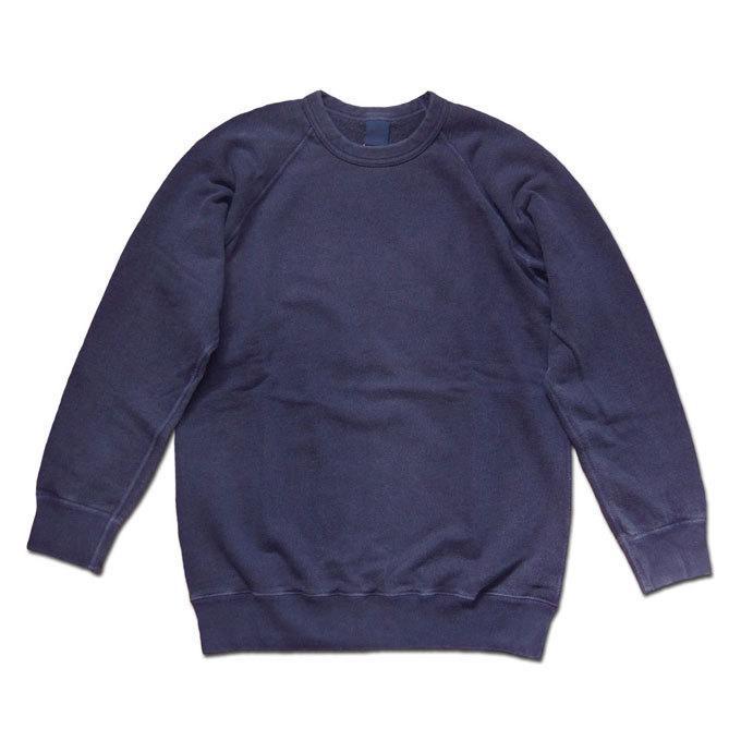 Good On グッドオン L/S RAGLAN CREW SWEAT SHIRTS ラグランクルースウェットシャツ スウェット トレーナー P-NAVY ネイビー COTTONUSA flossy