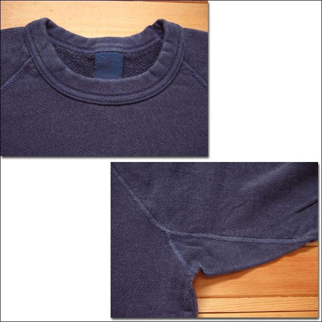 Good On グッドオン L/S RAGLAN CREW SWEAT SHIRTS ラグランクルースウェットシャツ スウェット トレーナー P-NAVY ネイビー COTTONUSA flossy 02