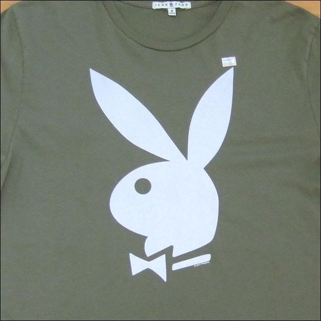 【メール便可】【Men's】JUNKFOOD ジャンクフード Tシャツ PLAYBOY プレイボーイ カットソー 半袖|flossy|02