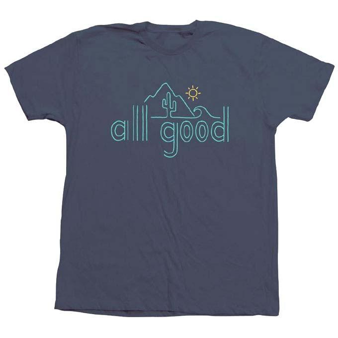 【メール便可】ALL GOOD オールグッド ROLLYN BAJA ALL GODD TEE Tシャツ David Powell カットソー 半袖 MadeinU.S.A. USA アメリカ製 SM18-0509|flossy