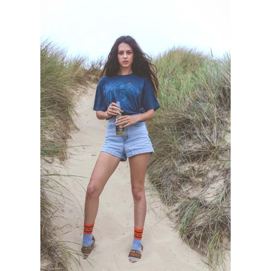 【メール便可】ALL GOOD オールグッド ROLLYN BAJA ALL GODD TEE Tシャツ David Powell カットソー 半袖 MadeinU.S.A. USA アメリカ製 SM18-0509|flossy|03