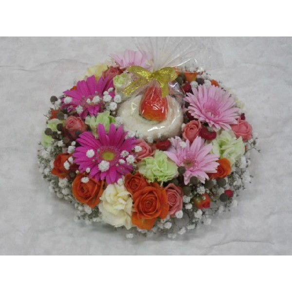 フラワーケーキ flower-8729