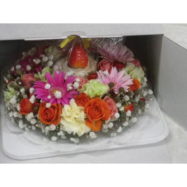 フラワーケーキ flower-8729 02