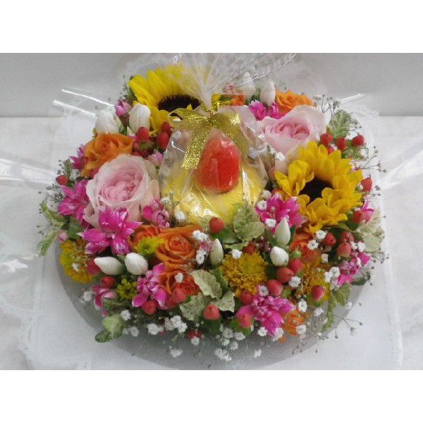 フラワーケーキ flower-8729 03