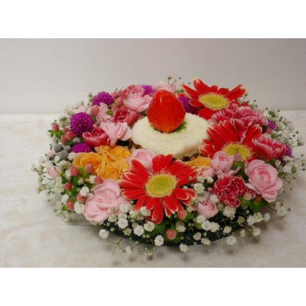 フラワーケーキ flower-8729 05