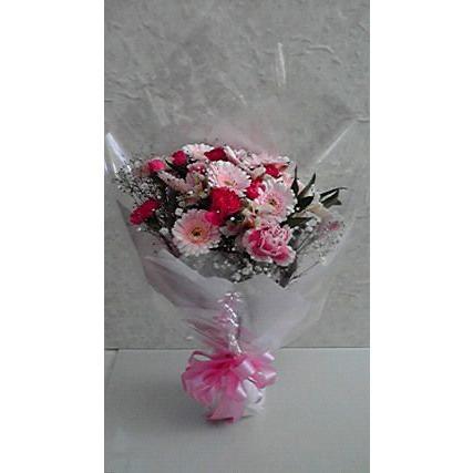 花束 ブーケ風 花材おまかせ flower-8729