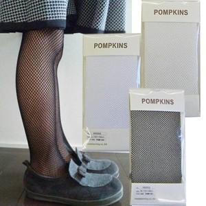 POMPKINS(ポプキンズ) フォーマル網タイツ 結婚式 入園式 入学式 お呼ばれ flowerkids