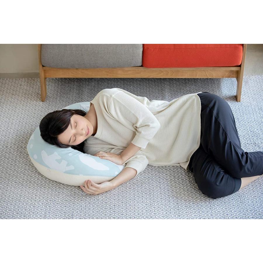 カトージ 日本製 3WAY洗える授乳用クッション ひつじ 0か月~ 23927 flvffymene 03