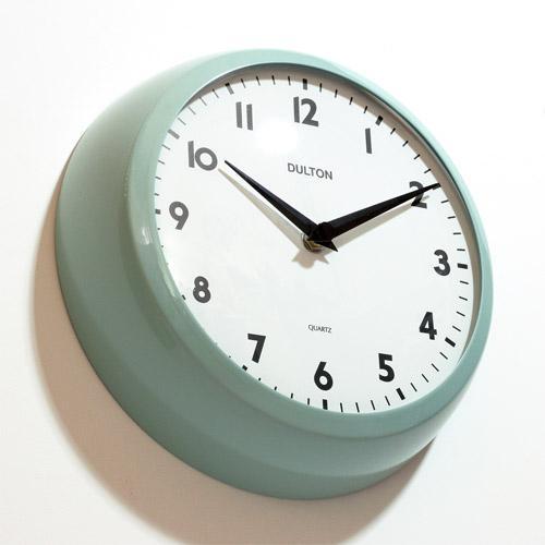 THICK WALL CLOCK CLASSIC GREEN (チックウォールクロック クラシックグリーン) 【ポイント3倍】 flyers