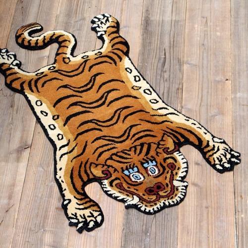 TIBETAN TIGER RUG LARGE (チベタン タイガー ラグ ラージ) 【送料無料】 【ポイント10倍】|flyers|02