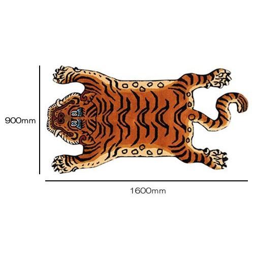 TIBETAN TIGER RUG LARGE (チベタン タイガー ラグ ラージ) 【送料無料】 【ポイント10倍】|flyers|06