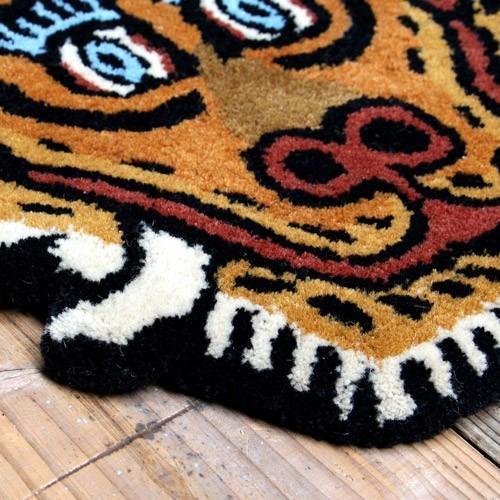 TIBETAN TIGER RUG LARGE (チベタン タイガー ラグ ラージ) 【送料無料】 【ポイント10倍】|flyers|08