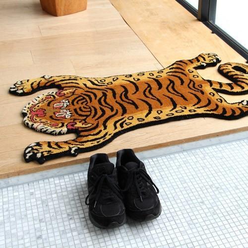 TIBETAN TIGER RUG SMALL (チベタン タイガー ラグ スモール) 【送料無料】 【ポイント5倍】|flyers|03
