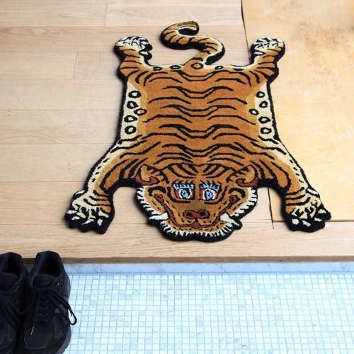 TIBETAN TIGER RUG SMALL (チベタン タイガー ラグ スモール) 【送料無料】 【ポイント5倍】|flyers|07