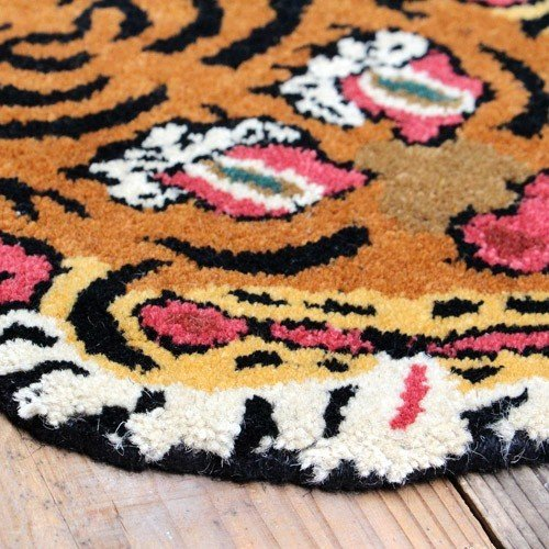 TIBETAN TIGER RUG SMALL (チベタン タイガー ラグ スモール) 【送料無料】 【ポイント5倍】|flyers|09
