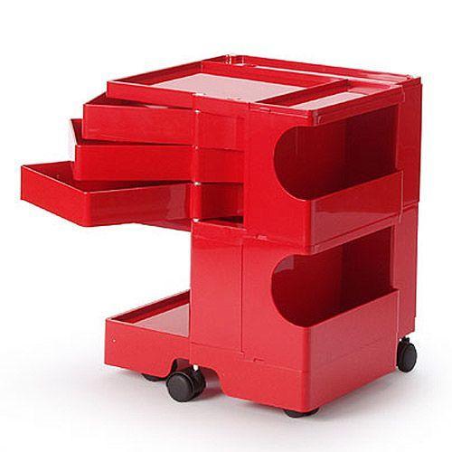 正規輸入品 BOBY WAGON 2×3 赤 (ボビーワゴン 2段3トレイ レッド) 【送料無料】 【ポイント10倍】
