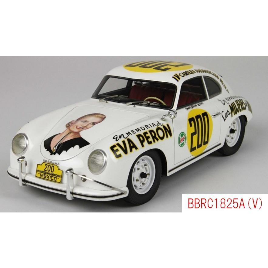 1/18 ポルシェ 356A IV カレラパンアメリカ 1953 #200 ケース無し BBR MODELS BBRC1825A