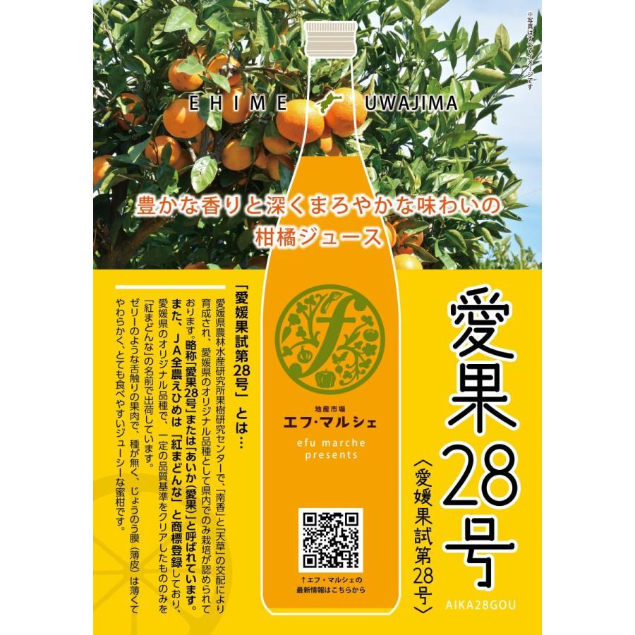 愛媛県ジュース6本セット(愛果28号) fmarushe535 03