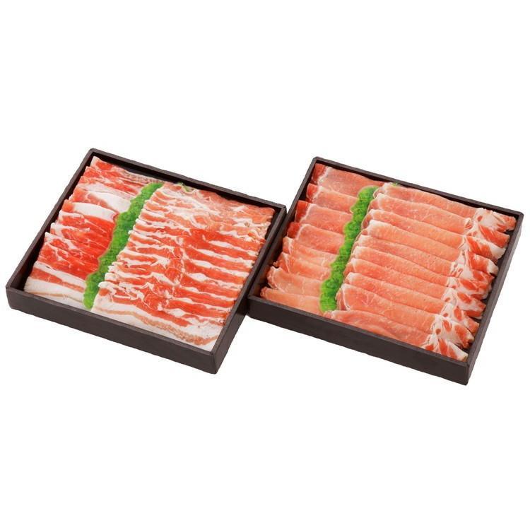 愛媛甘とろ豚しゃぶしゃぶ・すき焼きセット(冷凍)|fmarushe535