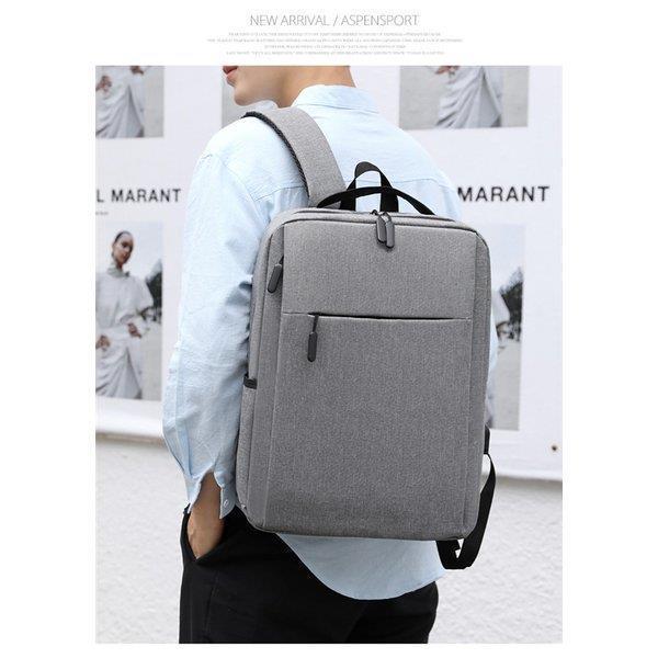 ビジネスリュック ビジネスバッグ メンズ リュック 鞄 バッグ リュックサック 安い 大容量 おしゃれ PC対応 出張 営業 通勤 シンプル|fmfp|13