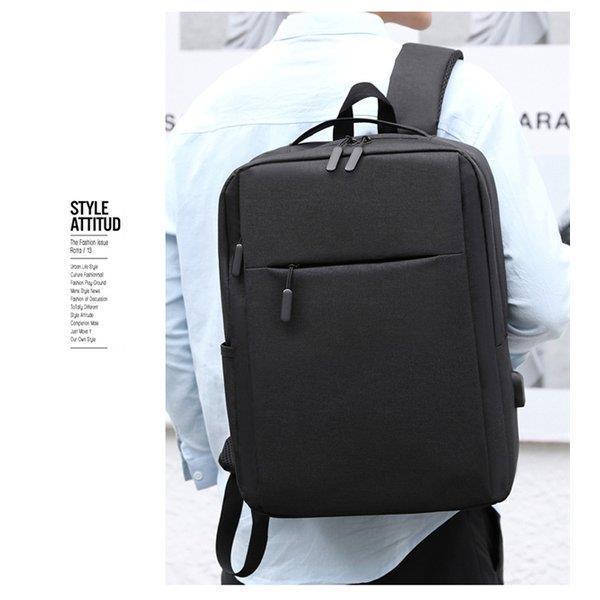 ビジネスリュック ビジネスバッグ メンズ リュック 鞄 バッグ リュックサック 安い 大容量 おしゃれ PC対応 出張 営業 通勤 シンプル|fmfp|14