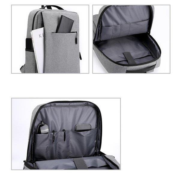 ビジネスリュック ビジネスバッグ メンズ リュック 鞄 バッグ リュックサック 安い 大容量 おしゃれ PC対応 出張 営業 通勤 シンプル|fmfp|07