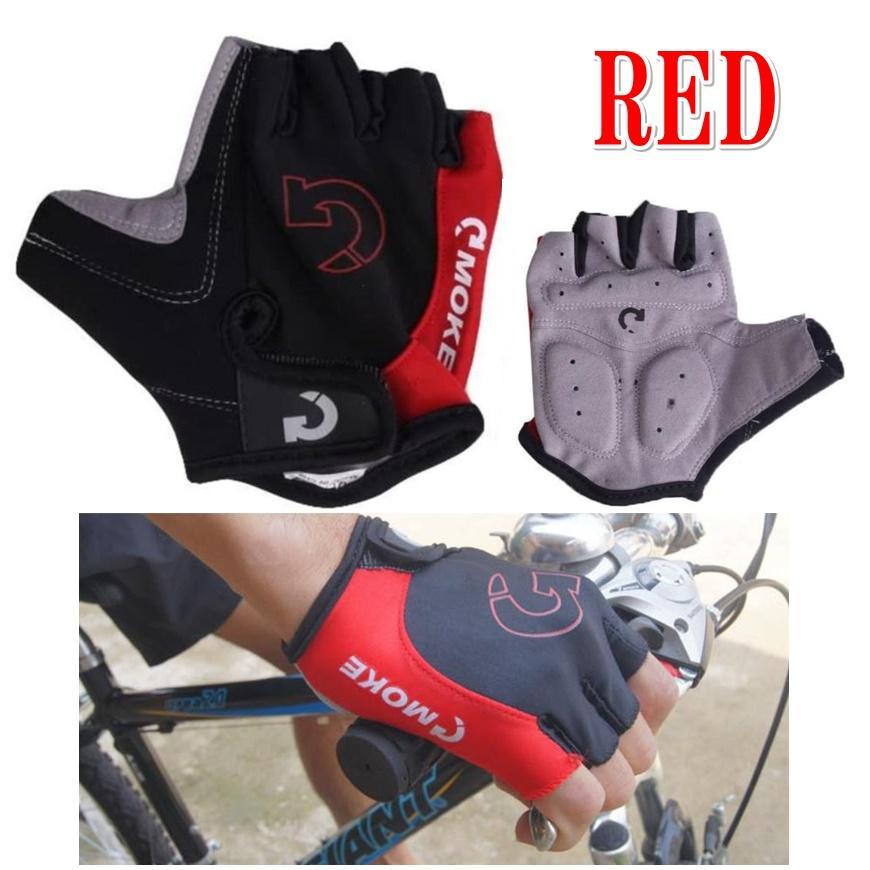 サイクリンググローブ 半指手袋 オートバイ バイク 夏 涼しい 通気性 防振 衝撃吸収 耐摩耗性 登山 送料無料 fnina 10