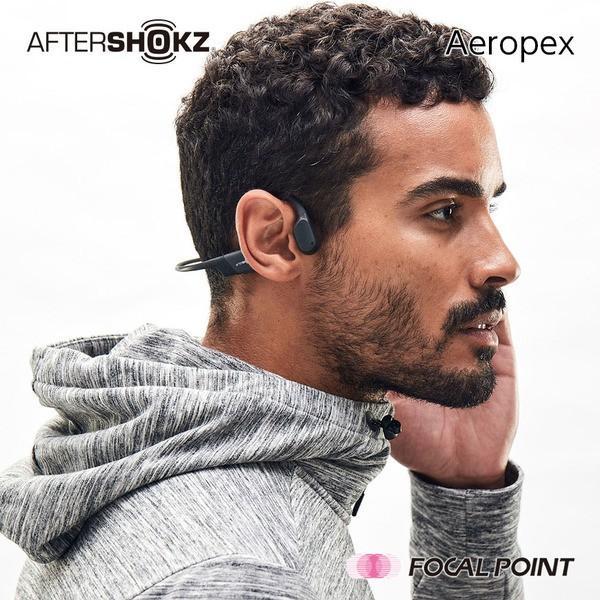 AfterShokz Aeropex アフターショックス エアロペクス 骨伝導 ヘッドホン ワイヤレス 26g 全4種|focalpoint|07