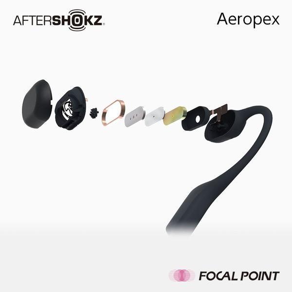 AfterShokz Aeropex アフターショックス エアロペクス 骨伝導 ヘッドホン ワイヤレス 26g 全4種|focalpoint|05