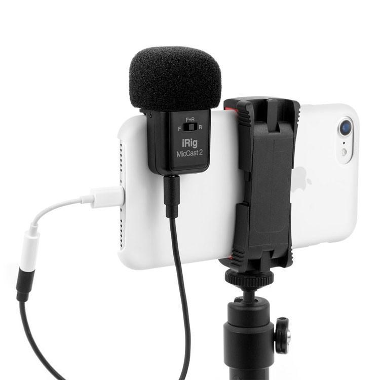 マイク IK Multimedia iRig Mic Cast2 スマホにくっつくアナログ接続マイク マイク本体|focalpoint|03